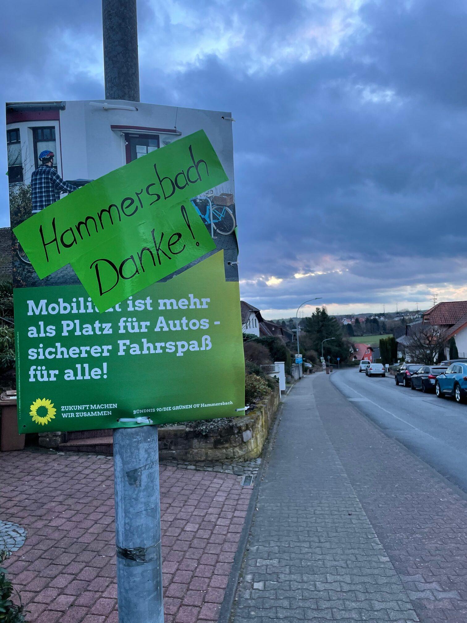 Danke Hammersbach!